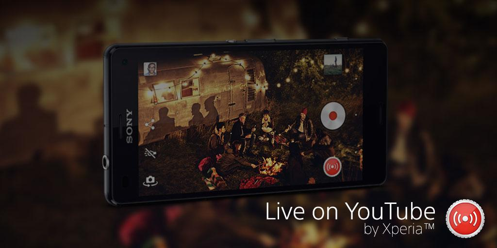 Live on YouTube – by Xperia™ - screenshot