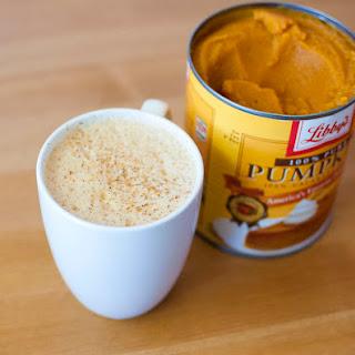 Vegan Pumpkin Spice Latte.