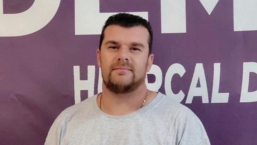 Alejandro Gil, candidato de Podemos a la alcaldía de Huércal el próximo mes de mayo
