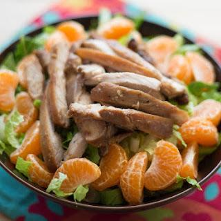 Sticky Chicken Chopped Salad