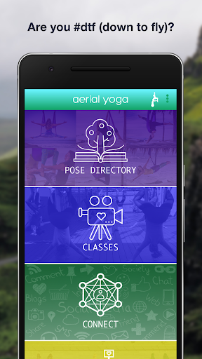 aerial yoga Fitness app screenshot 1 for Android