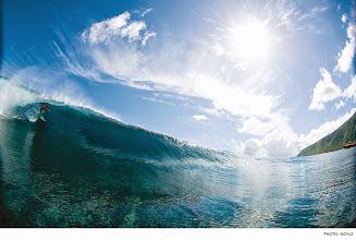 Photo: Photo of the Day: Kalani Chapman, Tahiti. Photo: #ZakNoyle #Surfer #SurferPhotos