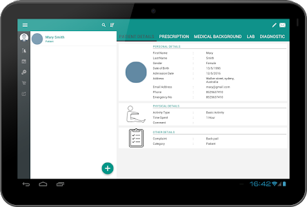 Patient Tracker screenshot 1