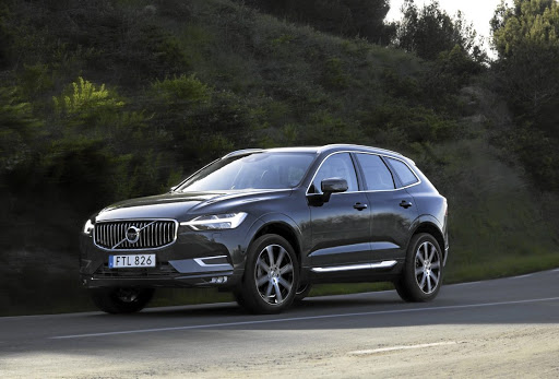 The new XC60 takes frontal styling cues from its bigger XC90 sibling. Picture: QUICKPIC