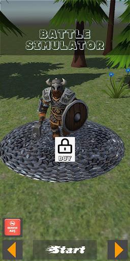 Battle Simulator - Simulateur de bataille  captures d'écran 1