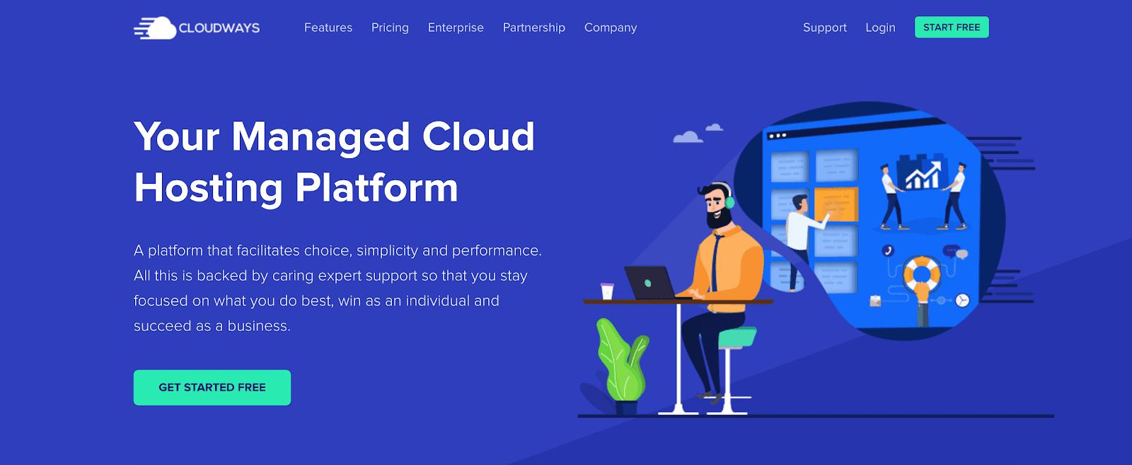 Visão geral do Cloudways