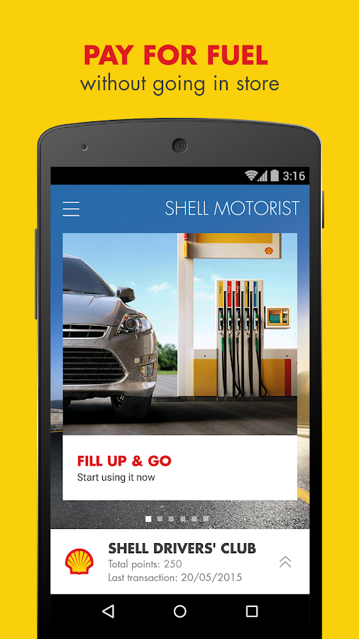 Shell Motorist- screenshot