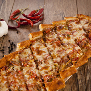 Scrumptious Turkish Pide.