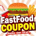 King Fast Food Coupons – Burger king Taco icon
