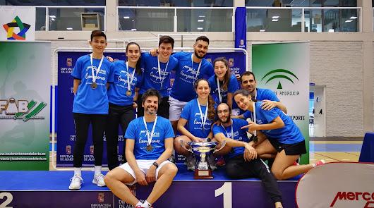 Mercapinturas Almería se proclama campeón de la Liga Andaluza de Bádminton