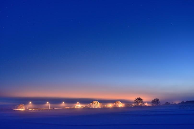 黎明の筑紫橋