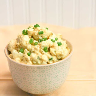 Mock Potato Salad aka Cauliflower Salad