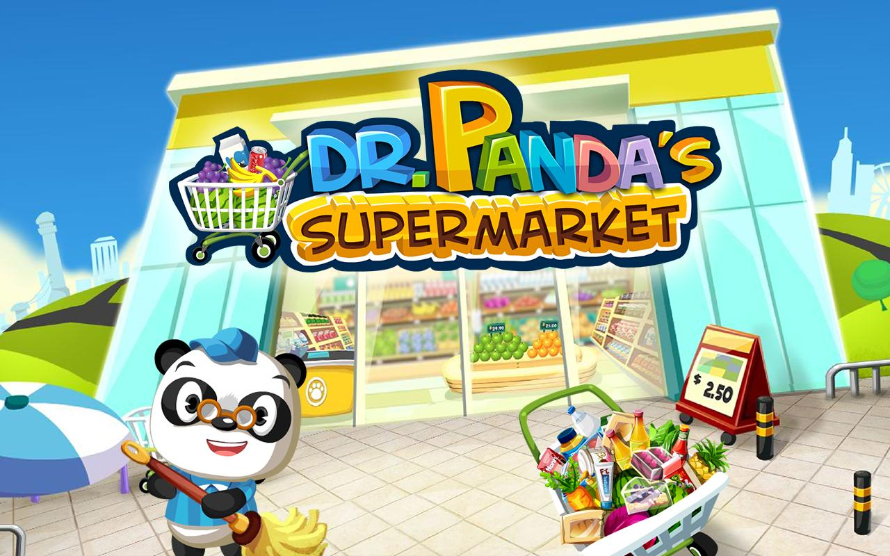 Dr. Panda Supermarket- screenshot