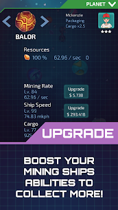 Idle Planet Miner Mod Apk (Free Shopping) 4