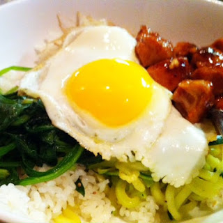 Korean Mixed Rice.