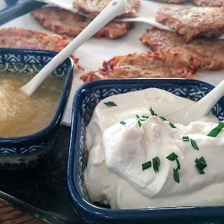 Placki Ziemniaczane (Potato Pancakes).