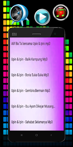 Lagu Upin And Ipin Special For Kids Mp3 1.0 screenshots 2
