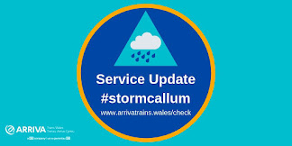 Trains to stop running during Storm Callum