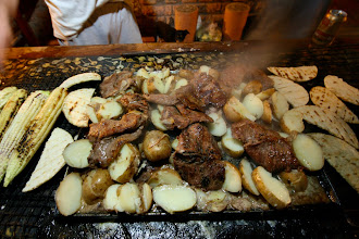 "Photo: Another delicious Colombian custom is the all out ""asado"" where families and friends gather together to enjoy like and plenty of grilled foods."