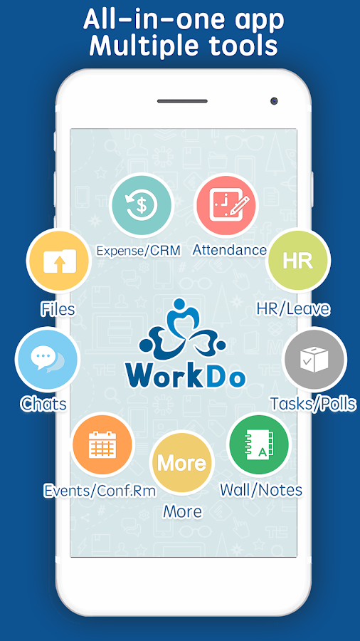 WorkDo: workplace teamwork tools- screenshot