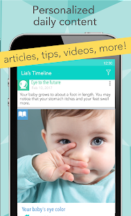 Download Ovia Pregnancy Tracker & Baby Countdown Calendar For PC Windows and Mac apk screenshot 3