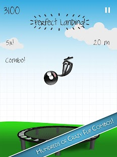 Stickman Trampoline PRO- screenshot thumbnail