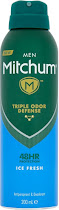 Mitchum Men Triple Odor Defense Protection Ice Fresh Anti Perspirant and Deodorant - 200ml