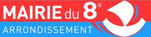 logo mairi 8 eme arrondissement Paris , exposition sophie lormeau 2019