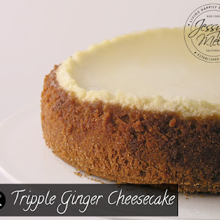 Tripple Ginger Cheesecake