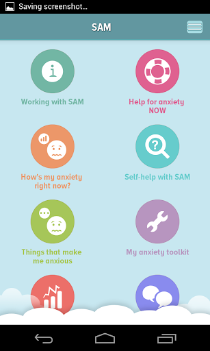 Self-help Anxiety Management screenshot for Android