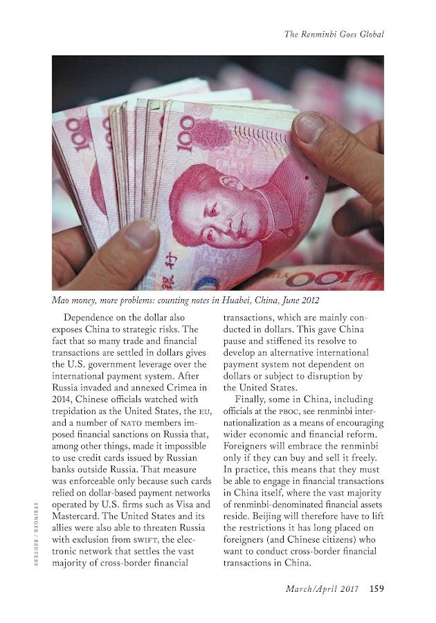 Foreign Affairs Magazine- screenshot