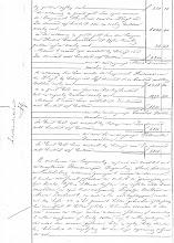 Photo: Regionaal Archief Leiden, Notarieel Archief Noordwijk, Inv. Nr. 19, notaris Cornelis Catharinus van der Schalk, akte 28, blad 31, dd. 21-02-1861  Boedelscheiding van de boedel van Job Duivenvoorden, overleden te Noordwijk op Langeveld, laatst echtgenoot van Hendrina van der Klugt.
