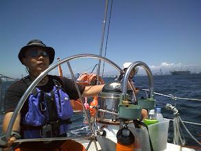 Photo: 久しぶりに東京湾の奥へ向かいます。