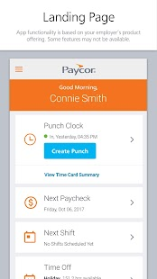 Paycor Mobile - náhled