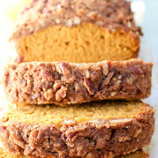 Pumpkin Streusel Coffee Cake Bread