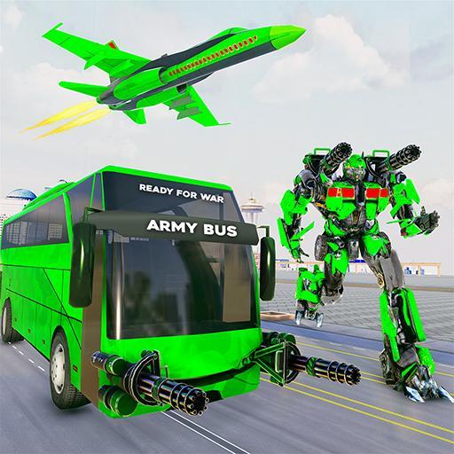 jogos ônibus robô do Exército- jogos de carro robô