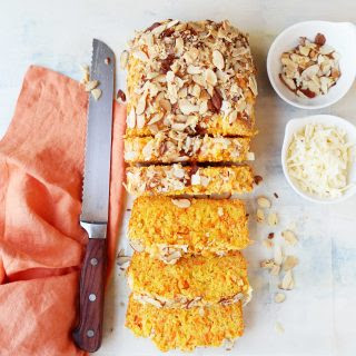 Savory Carrot and Asiago Bread.