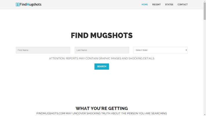 Find Mugshots - screenshot