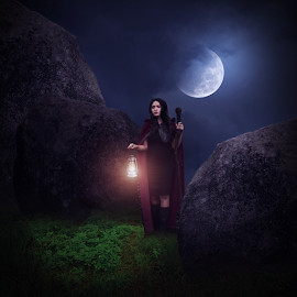 Looking For Revenge by Muhd Iqbal - Digital Art People ( photooftheday, gothic, photoshop art, manipulation, digital art )