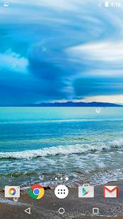Oceán Živé Tapety - náhled