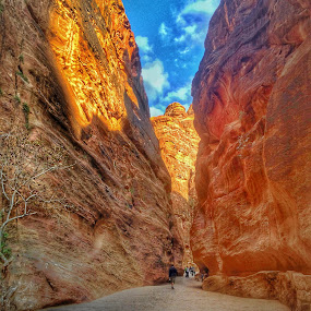 Petra by Khuloud Elzwai - City,  Street & Park  Historic Districts