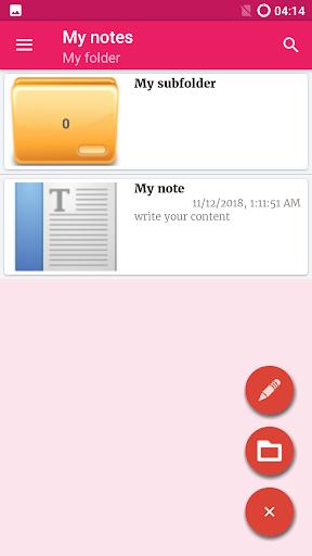 Notepad App screenshot 4