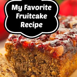 My Favorite Fruitcake