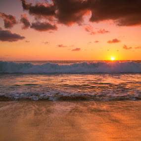 Kuta Beach , Bali by Jack Lim - Landscapes Beaches