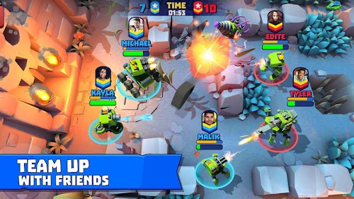 Screenshot 3 Tanks A Lot! - Realtime Multiplayer Battle Arena 1.30 APK MOD