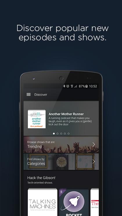 Acast - Podcast Player screenshot #1