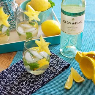 The Clos-jito with Clos du Bois Pinot Grigio