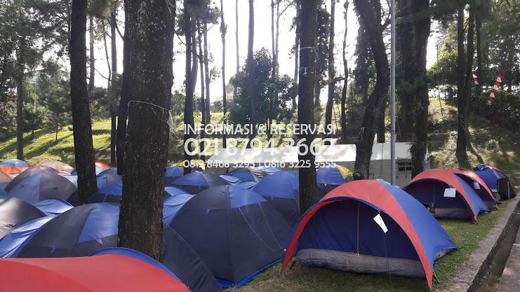 Tempat Camp Family  Wana  Villa Gunung Hambalang Sentul