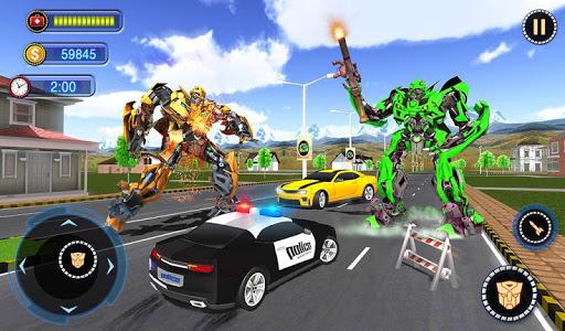 US Robot Car Transform - Police Robot Fighting 1.0.1 screenshots 14