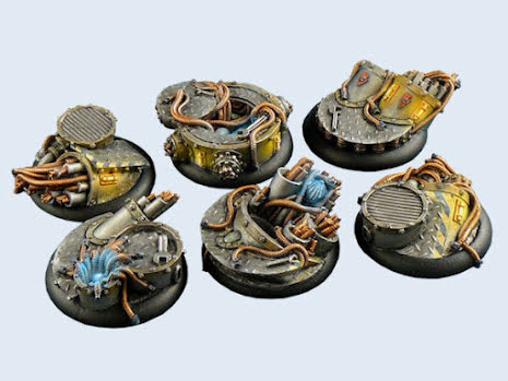 Power Plant Bases Wround 40mm (2)